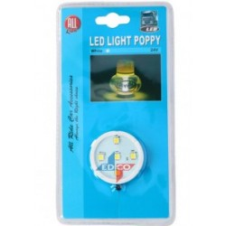 Led licht Poppy 5led wit PL All ride 24v 1mtr wire db